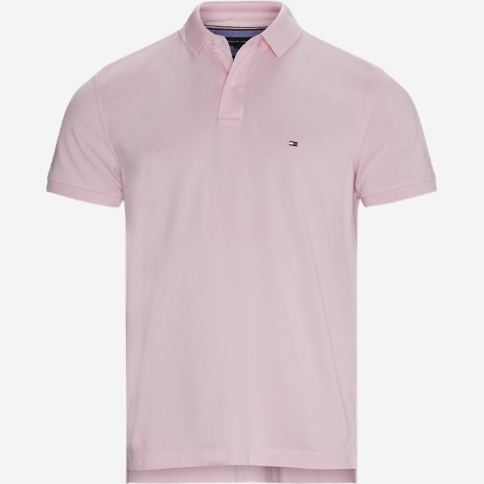 Tommy Regular Polo T-shirt - T-shirts - Regular - Pink